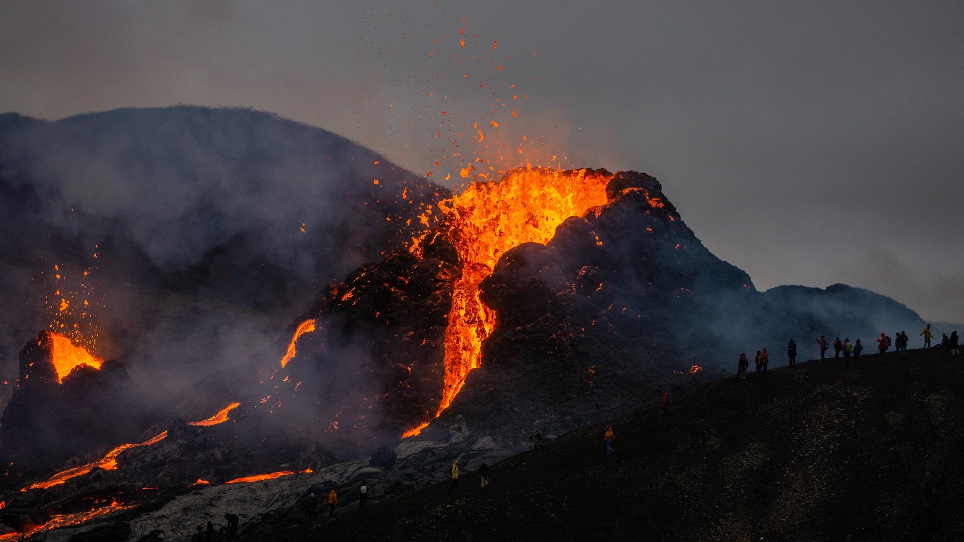 Fagradalsfjall Volcano Area